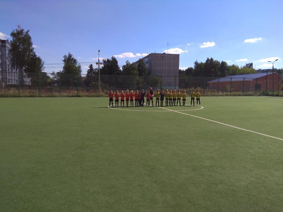 Первенство МО по футболу среди детских команд Надежда (Зарайск) — ФК Озёры.