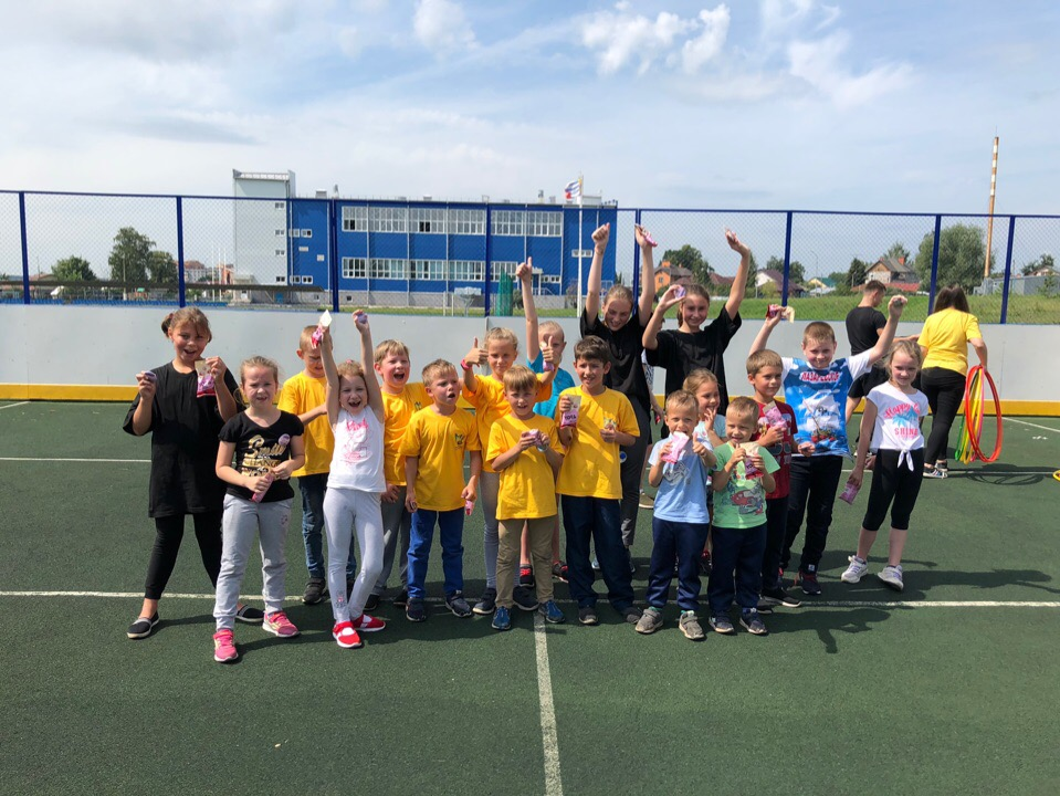 26 июля на многофункциональной спортивной площадке стадиона им. А.Гринина прошли «Весёлые старты для детей».