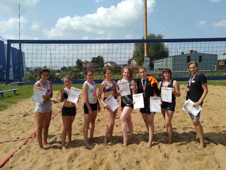 27 июня состоялся Кубок городского округа Озёры по пляжному волейболу среди женских команд.