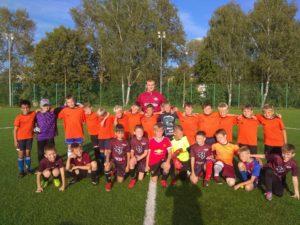 11 августа состоялся товарищеский матч по футболу среди детских команд 2009-2010 г.р.