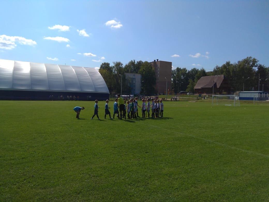 30 августа состоялись игры Первенства Московской области по футболу среди детских команд.