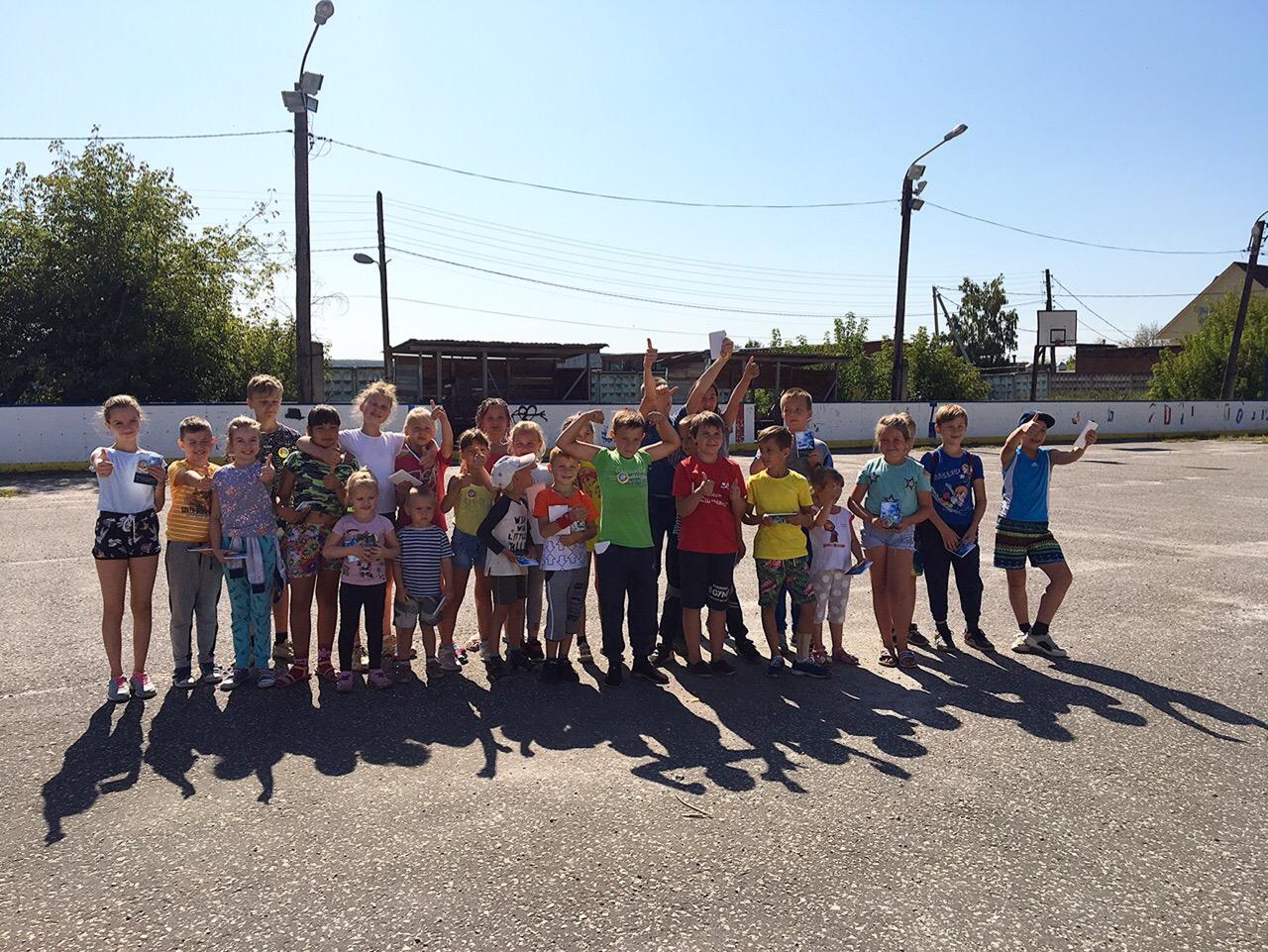 30 августа состоялось спортивно-массовое мероприятие «Весёлые старты» для детей, посвященные Дню знаний.