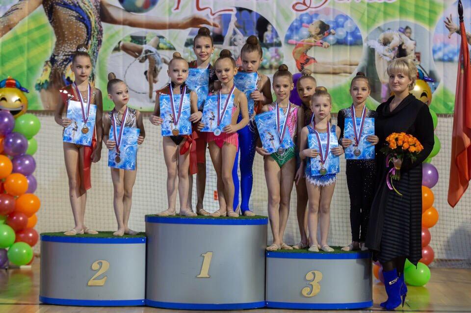02 февраля состоялся VI детский фестиваль художественной гимнастики «КРОХА».