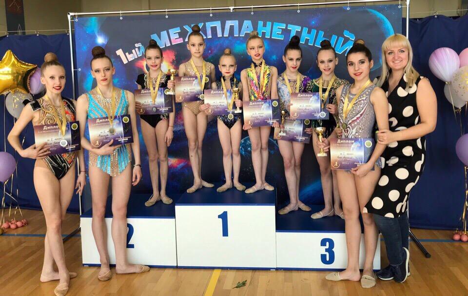 13-14 апреля в Санкт-Петербурге прошёл турнир по художественной гимнастике «Золотая Смешелька».