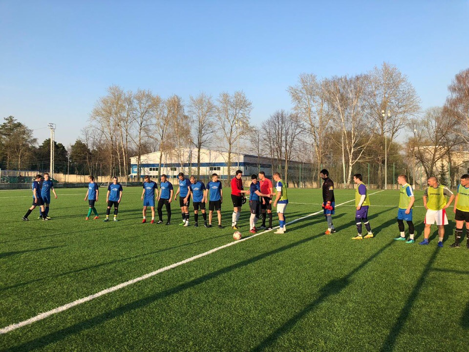 24 апреля состоялась Товарищеская встреча по футболу среди мужских команд.