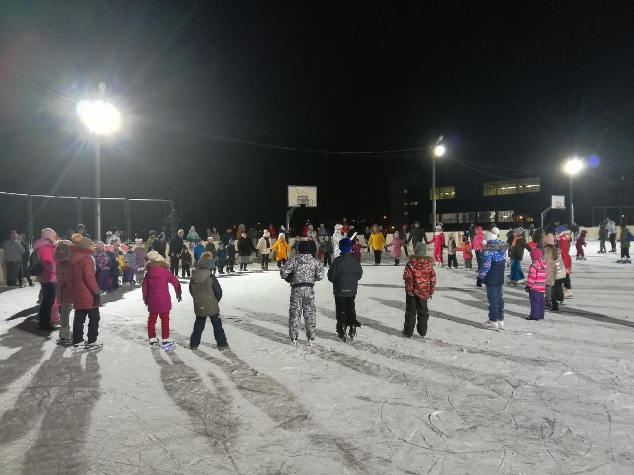 4 января состоялось спортивно — массовое мероприятие для детей.