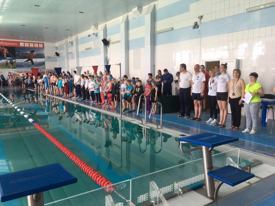 8 мая в бассейне МУ «СЦ им. А.Гринина» прошло открытое первенство по плаванию, посвященное Дню Победы.