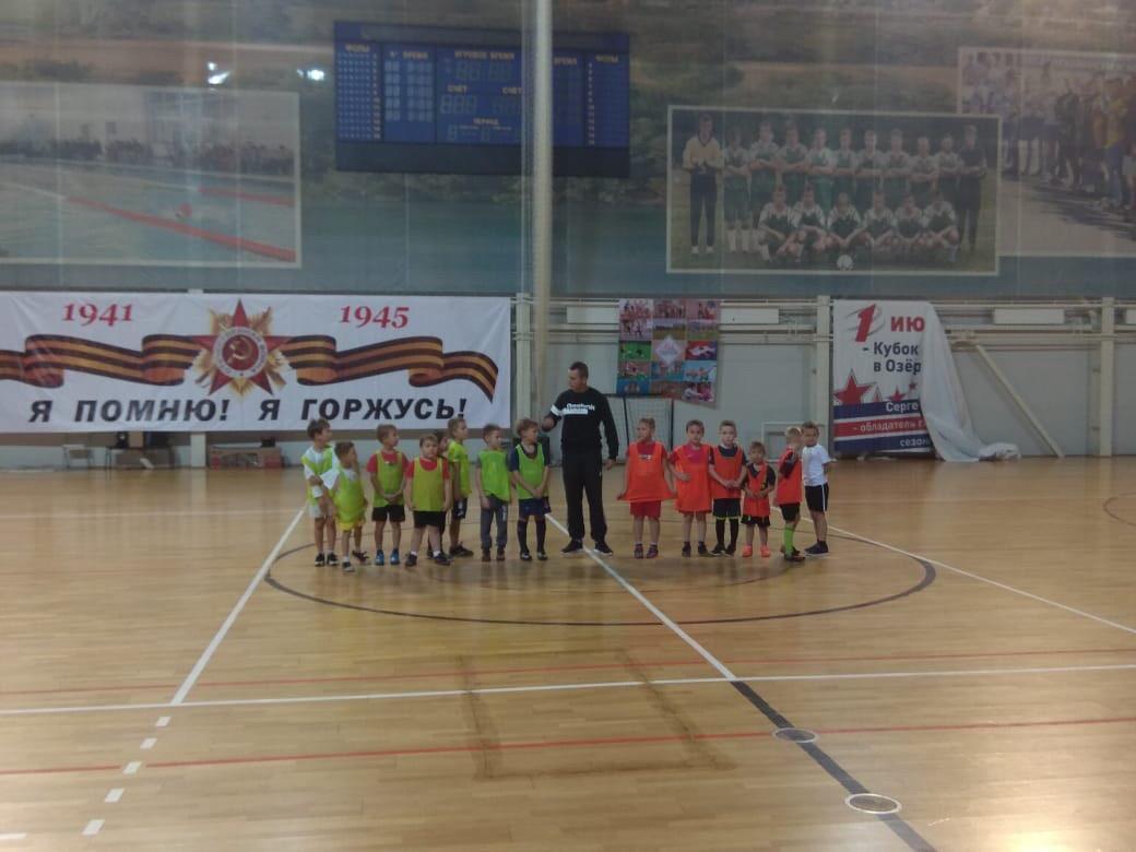 26 сентября состоялся товарищеский матч по футболу среди детских команд 2012-2013 г.р.