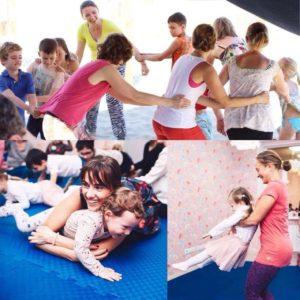 «Семейная физкультура» с детьми с 16 октября.