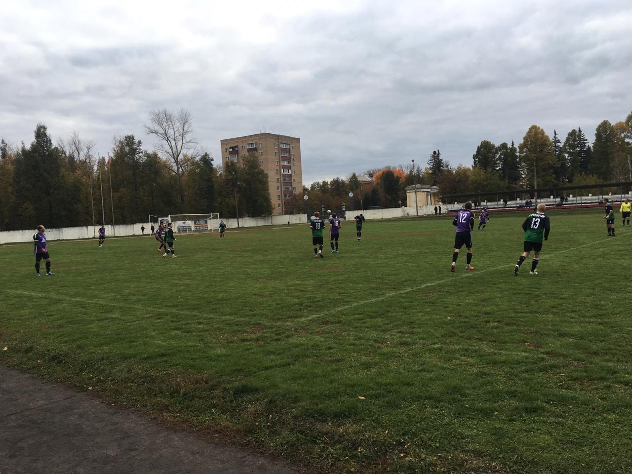 28 сентября в г.Воскресенск состоялась игра Чемпионата Московской области по футболу среди мужских команд.