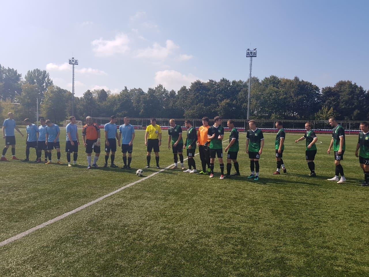 31 августа в г. Коломна состоялась игра Чемпионата Московской области по футболу среди мужских команд.