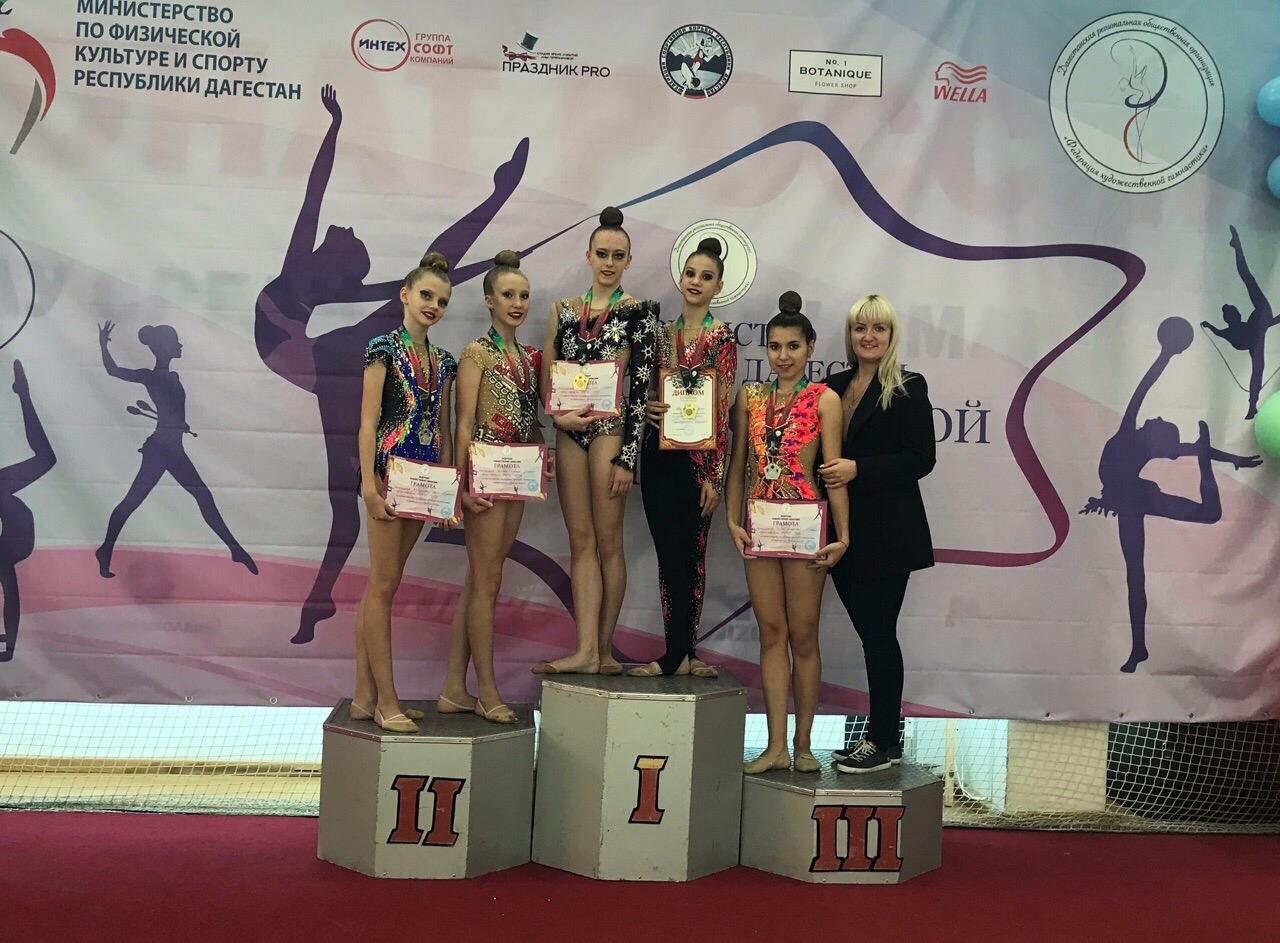 26-27 октября в Махачкале состоялось Первенство республики Дагестан по художественной гимнастике.