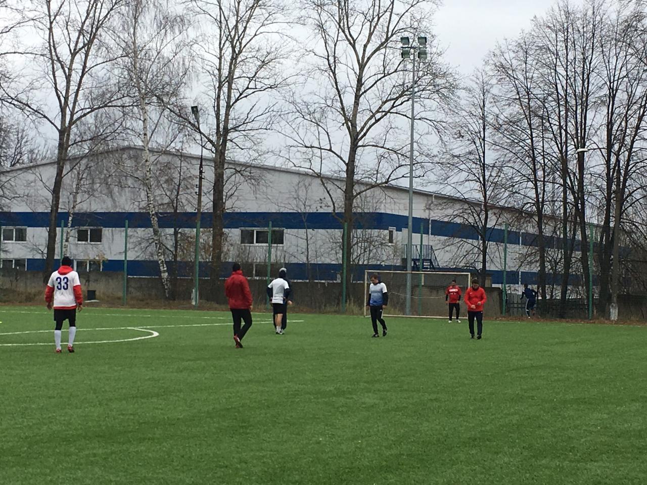 27 октября на футбольных полях МУ «СЦ им. А.Гринина» прошли игры Турнира по футболу 8*8.