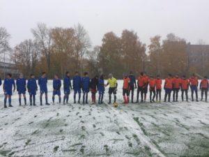 06 октября  состоялись игры Первенства Московской области по футболу среди юношеских команд.