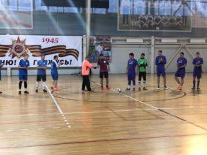 16 ноября в универсальном зале МУ «СЦ им. А.Гринина» стартовали игры Кубка открытия по мини-футболу.