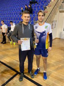 11 января на базе МУ «СЦ им. А. Гринина» состоялся «Рождественский турнир по волейболу среди мужских команд».