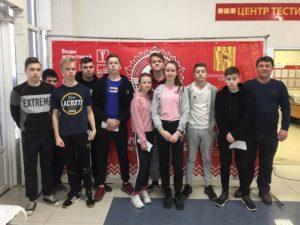 28 января 2020 года  учащиеся 8-х классов МБОУ СОШ №2, МБОУ Емельяновская СОШ, МБОУ Бояркинская СОШ выполнили нормативы ВФСК ГТО IV ступени.