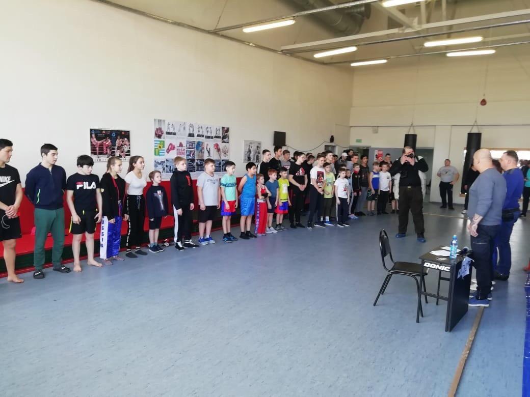 22 февраля на базе МУ «СЦ им. А.Гринина» прошёл Турнир по кикбоксингу среди юношей в городском округе Озеры