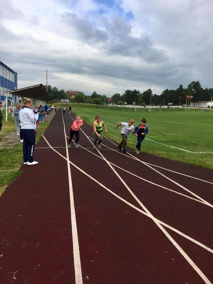15 августа на Стадионе им. А. Гринина состоялись Соревнования по легкой атлетике, посвящённые Дню города #Озеры95.