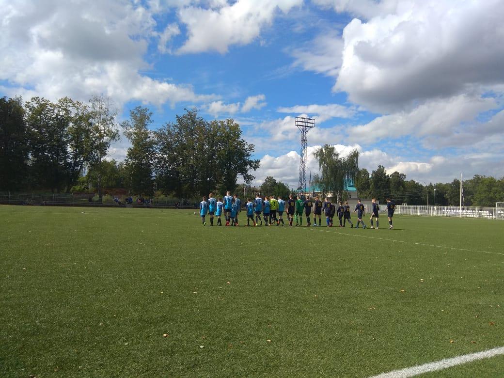 27 августа 2020 года в г. Ступино состоялись игры Первенства МО по футболу среди подростковых команд СШ Ока (Ступино) — ФК Озёры (Озёры).