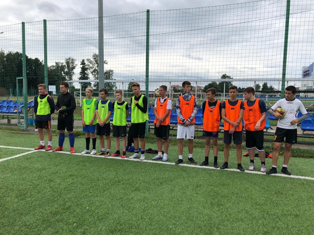 15 августа на стадионе им. А. Гринина состоялся Турнир по мини-футболу среди юношеских команд, посвящённый Дню города #Озеры95.