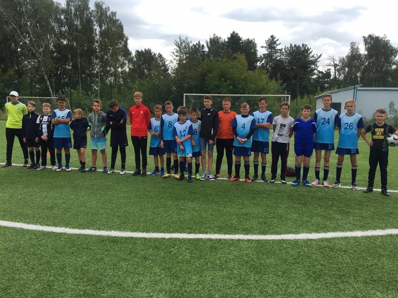 15 августа на стадионе им. А. Гринина состоялся Турнир по мини-футболу среди подростковых команд, посвящённый Дню города #Озеры95.