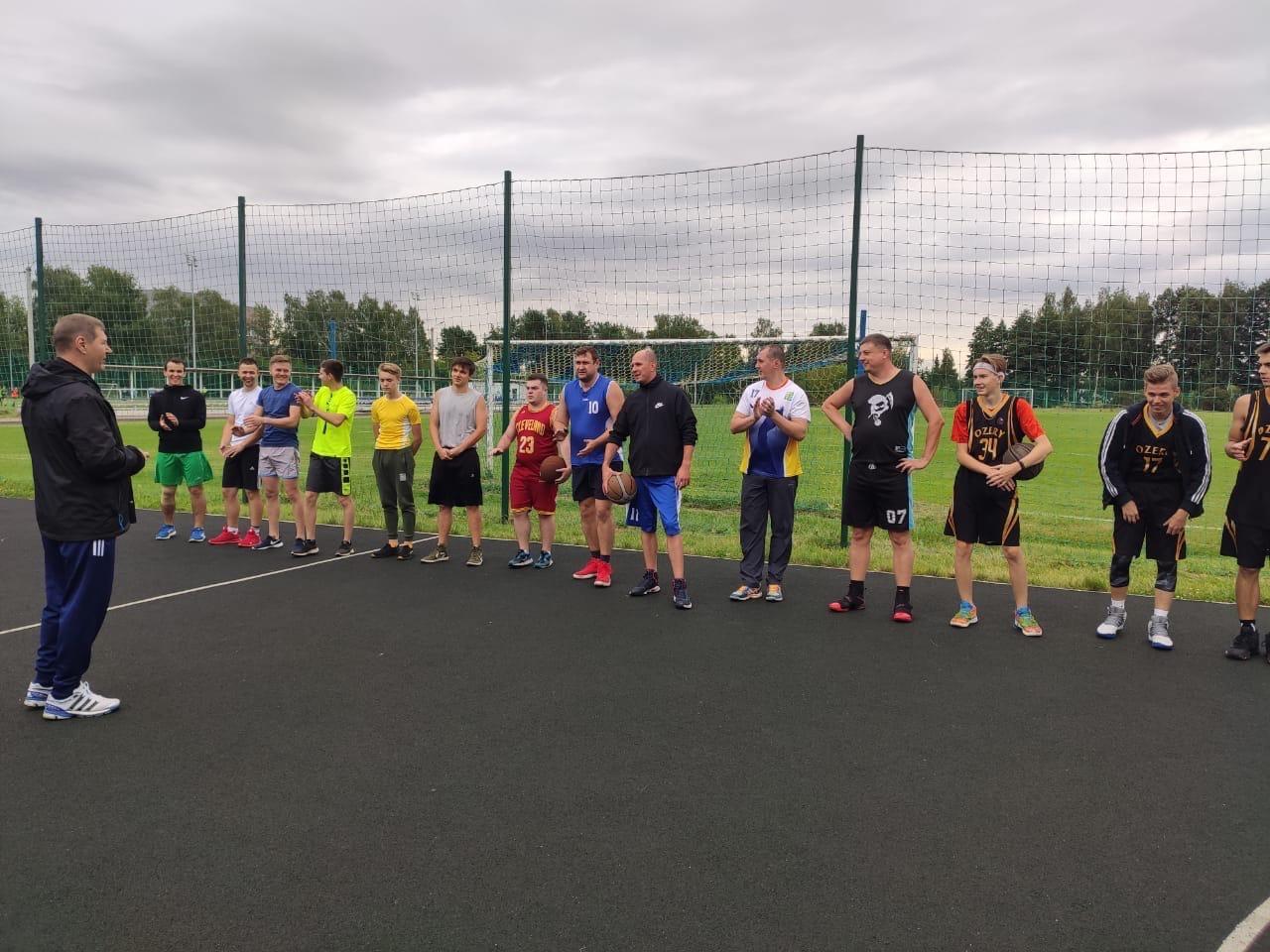 15 августа на Стадионе им. А.Гринина прошел Турнир по стритболу, посвящённый Дню города #Озеры95.