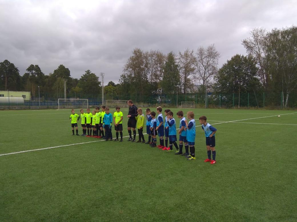 14 сентября 2020 года на футбольном поле МУ «СЦ им. А.Гринина» состоялись игры Первенства Московской области по футболу среди детских команд.