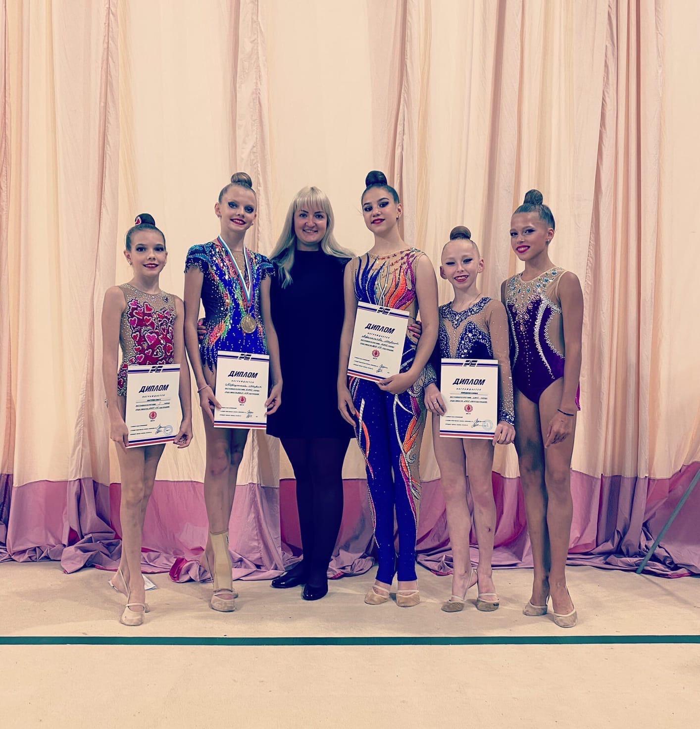 4-5 сентября в г. Раменское прошёл отборочный турнир МФСОО «Рекорд» по художественной гимнастике.