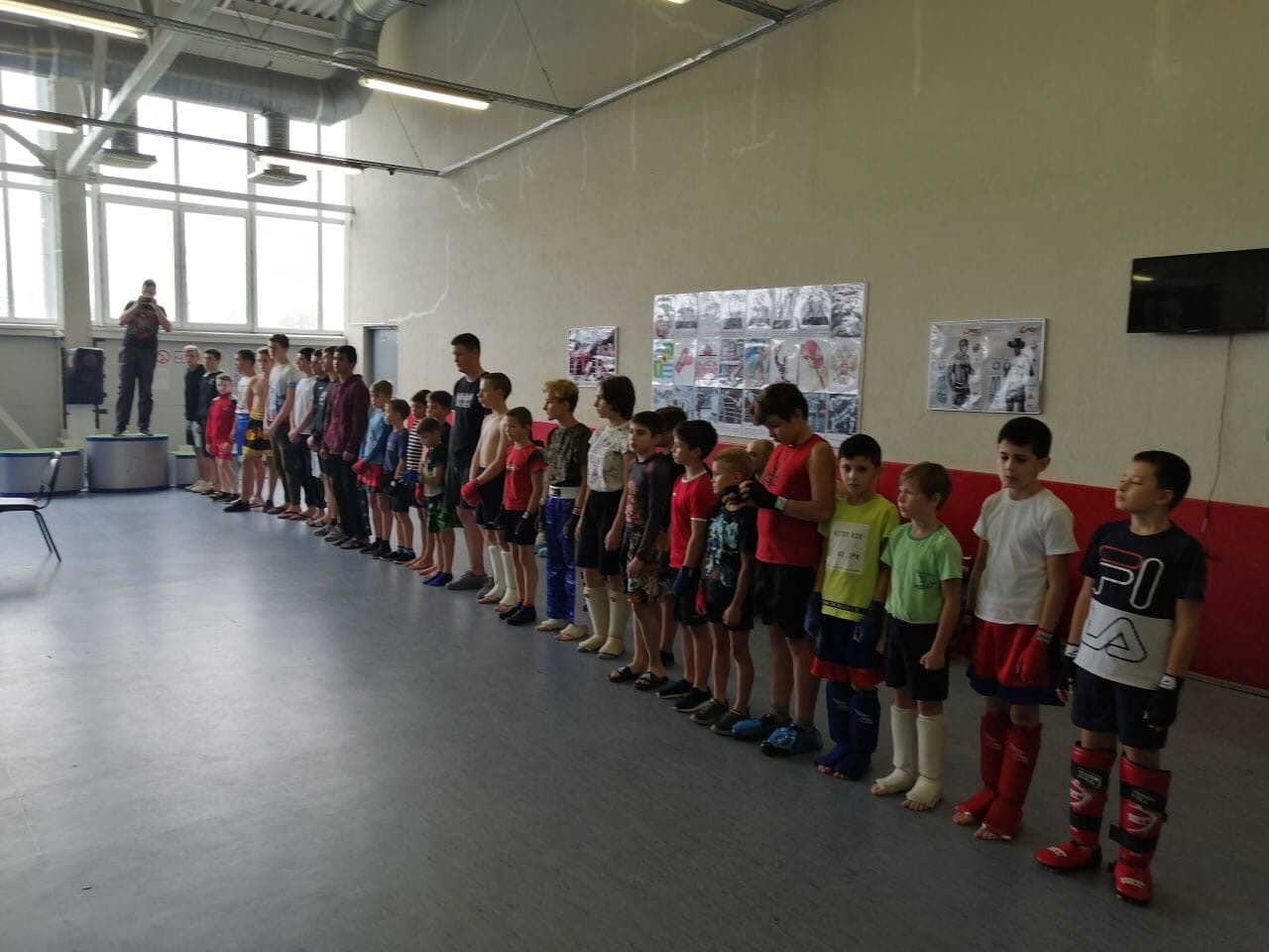 19 сентября на базе МУ «СЦ им. А.Гринина» прошёл Турнир по кикбоксингу среди юношей в городском округе Озеры.