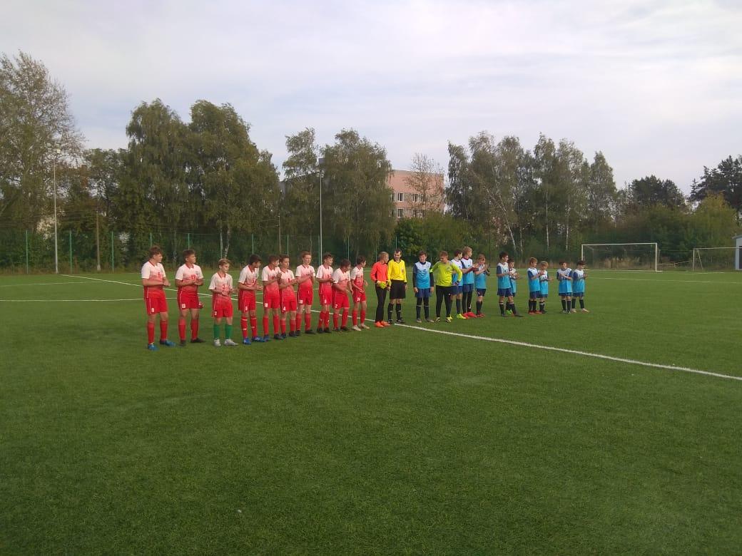 17 сентября 2020 года на футбольном поле МУ «СЦ им. А.Гринина» состоялись игры Первенства Московской области по футболу среди подростковых команд