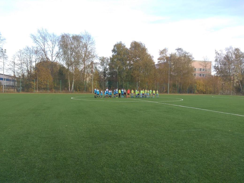 08 октября 2020 года состоялись игры Первенства МО по футболу среди подростковых команд.