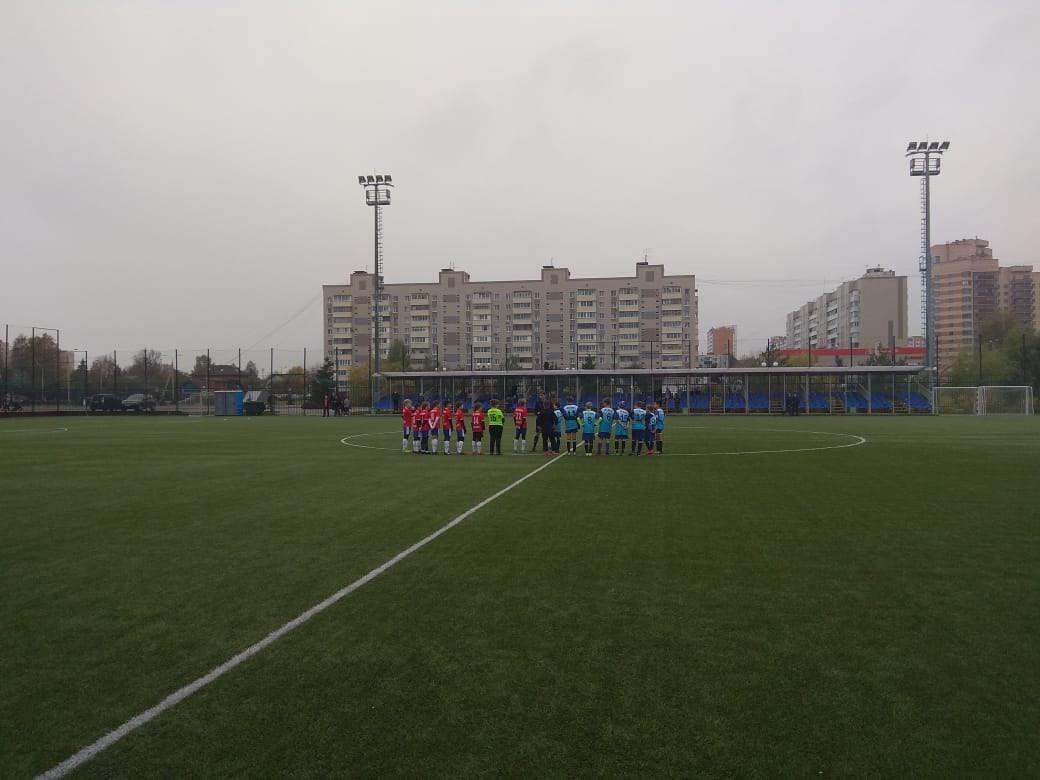 12 октября 2020 года состоялись игры Первенства МО по футболу среди детских команд.