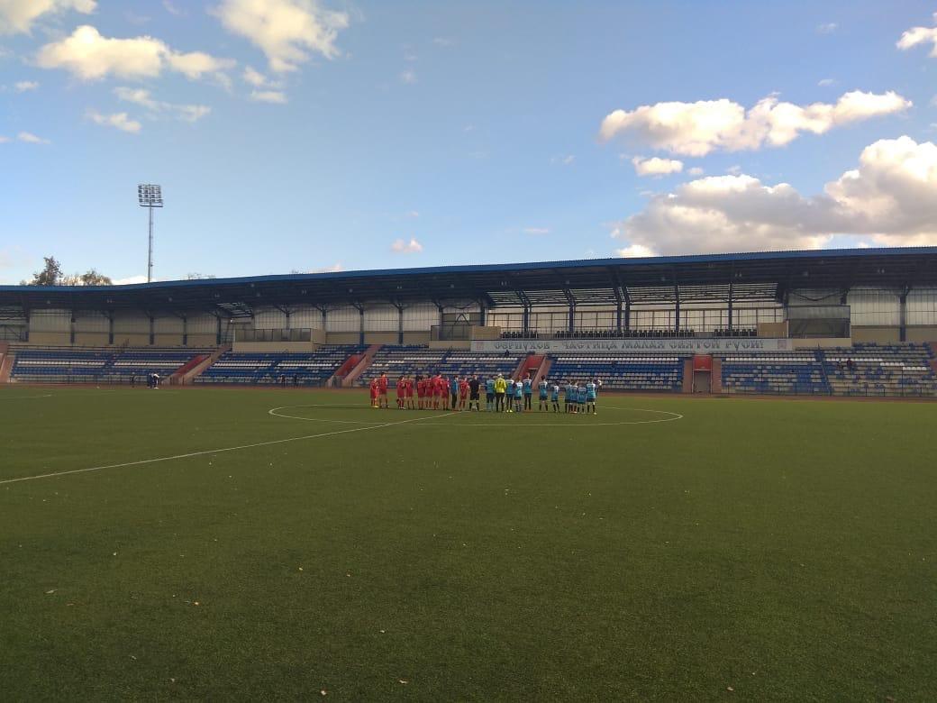 15 октября 2020 года в г. Серпухов состоялись игры Первенства Московской области по футболу среди подростковых команд.