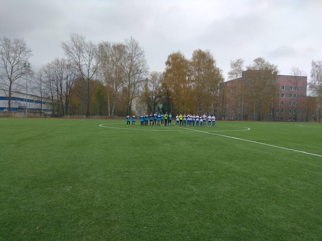 22 октября 2020 года на футбольном поле МУ «СЦ им. А. Гринина» состоялись игры Первенства МО по футболу среди подростковых команд.