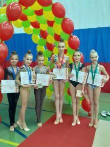 24 октября в г. Калининец прошёл открытый турнир по художественной гимнастике «Русская осень».