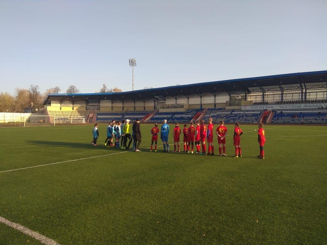 28 октября 2020 года в г. Серпухов состоялись игры Первенства МО по футболу среди подростковых команд.