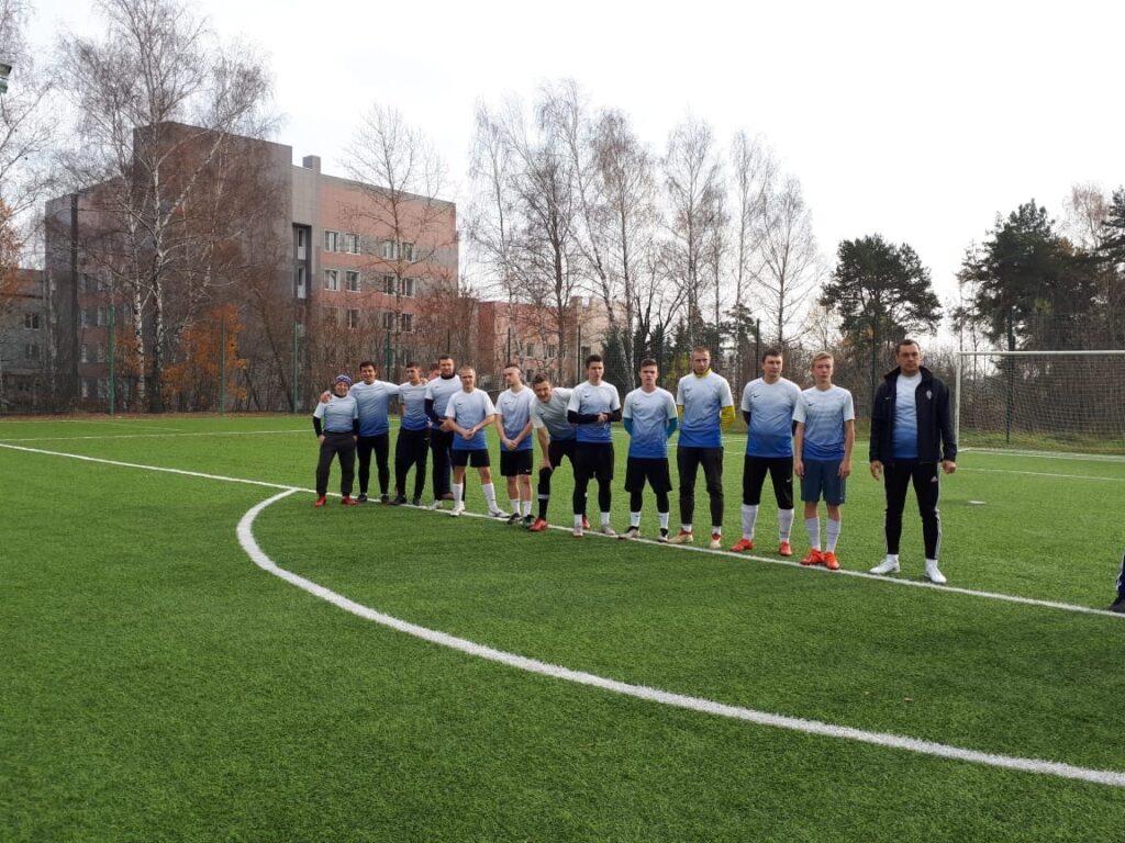07 ноября завершились игры Турнира по футболу 8*8 среди мужских команд.