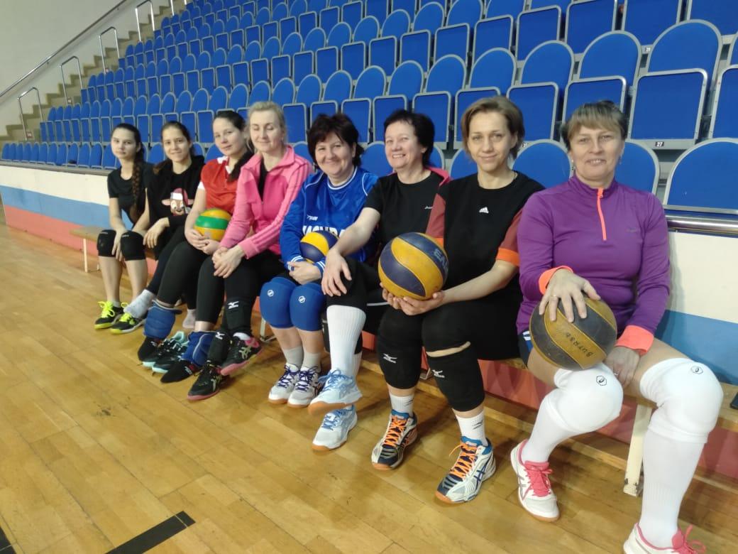 09 января на базе МУ «СЦ им. А. Гринина» состоялся «Рождественский турнир по волейболу среди женских команд».
