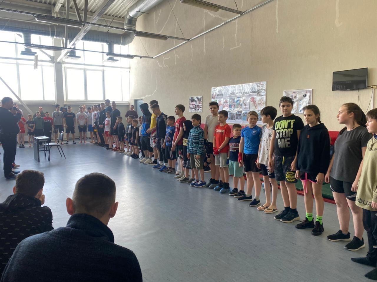 27 февраля прошёл Турнир по кикбоксингу среди юношей в городском округе Озеры.