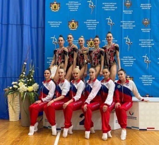 9 февраля в Рязани прошел Чемпионат Центрального федерального округа по художественной гимнастике в групповых упражнениях.