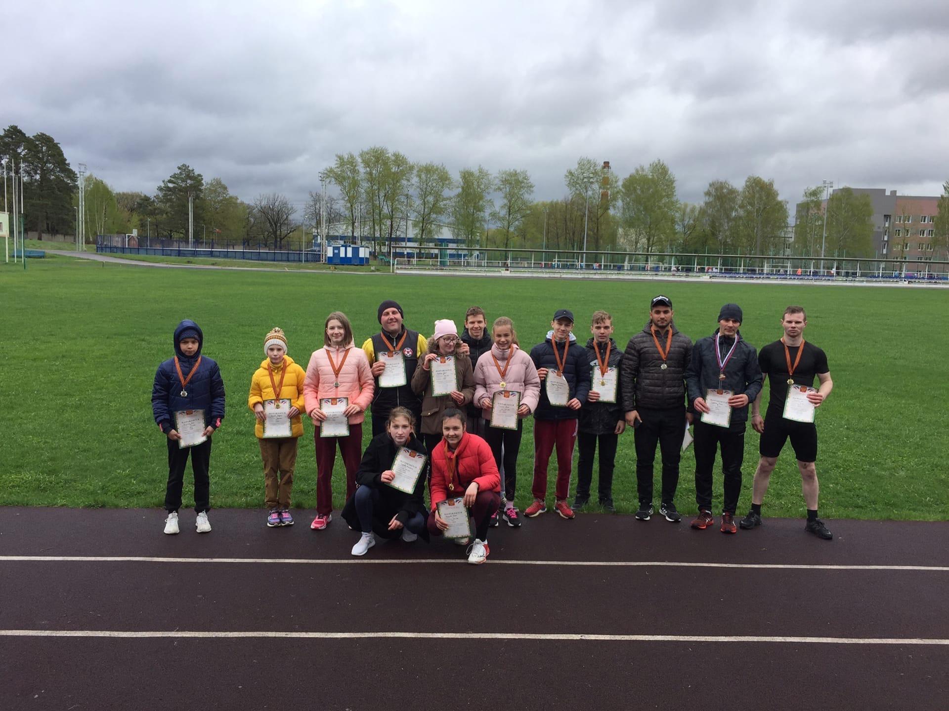 09 мая на стадионе им. А. Гринина состоялись Соревнования по легкой атлетике, посвящённые Дню Победы.