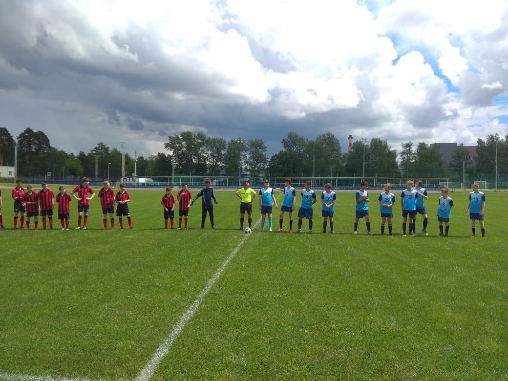 06 июня на Стадионе им. А.Гринина состоялась игра Первенства Московской области по футболу среди юношеских команд.