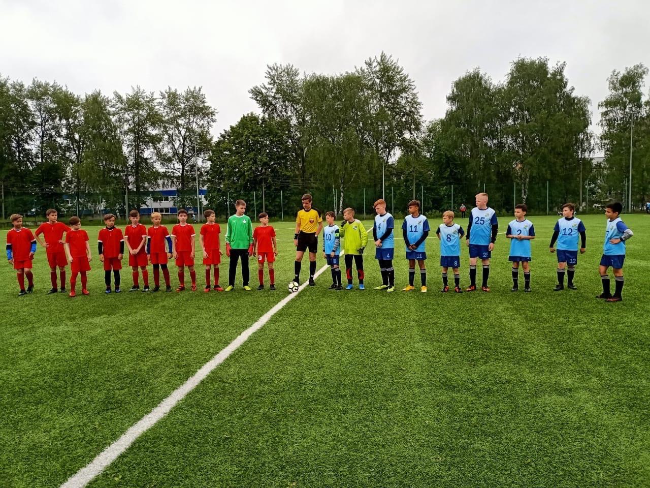 10 июня на Стадионе им.А.Гринина состоялись игры Первенства Московской области по футболу среди подростковых команд.