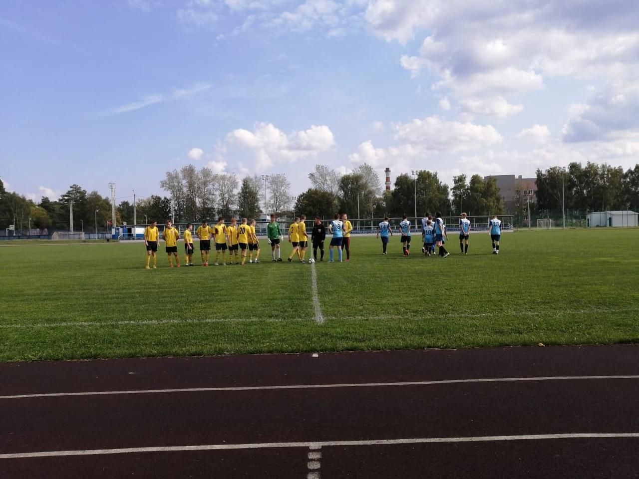 12 сентября на Стадионе им. А. Гринина состоялась игра Первенства МО по футболу среди юношеских команд.