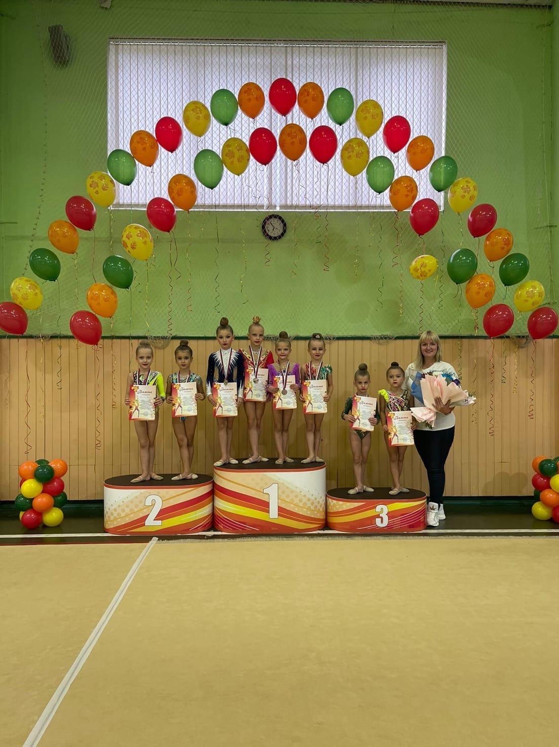 11 сентября прошло открытое первенство спортивной школы городского округа Луховицы по художественной гимнастике.