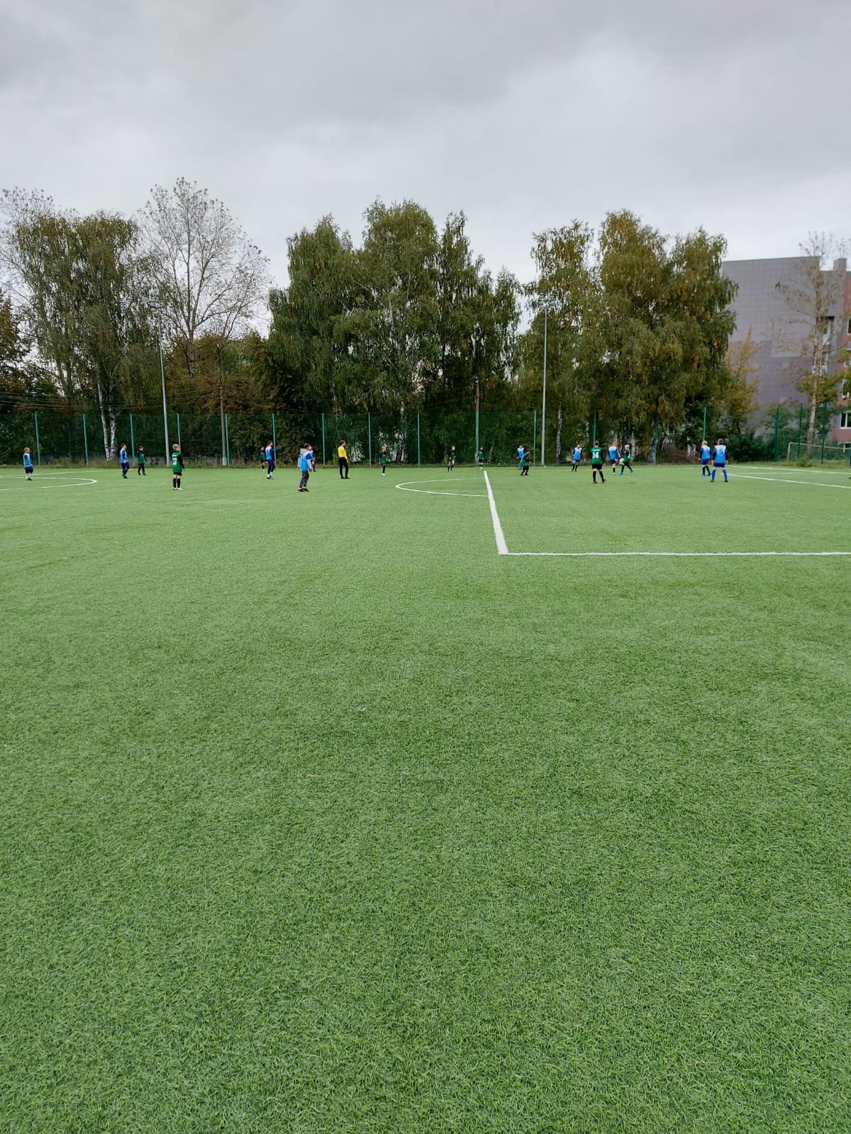 16 сентября на Стадионе им.А.Гринина состоялись игры Первенства МО по футболу среди подростковых команд.